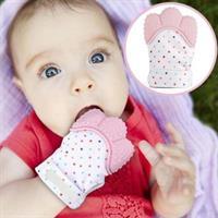 כפפת נשיכה לפיתוח שיני התינוק