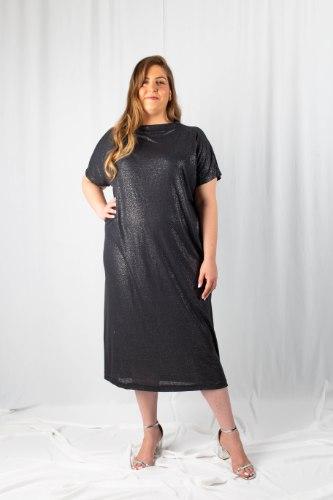 שמלת מדיסון אפורה