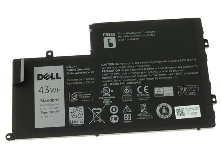 סוללה פנימית מקורית למחשב נייד דל Dell Inspiron 14  5447 5548 5545 5448 5442 43Wh Laptop Battery