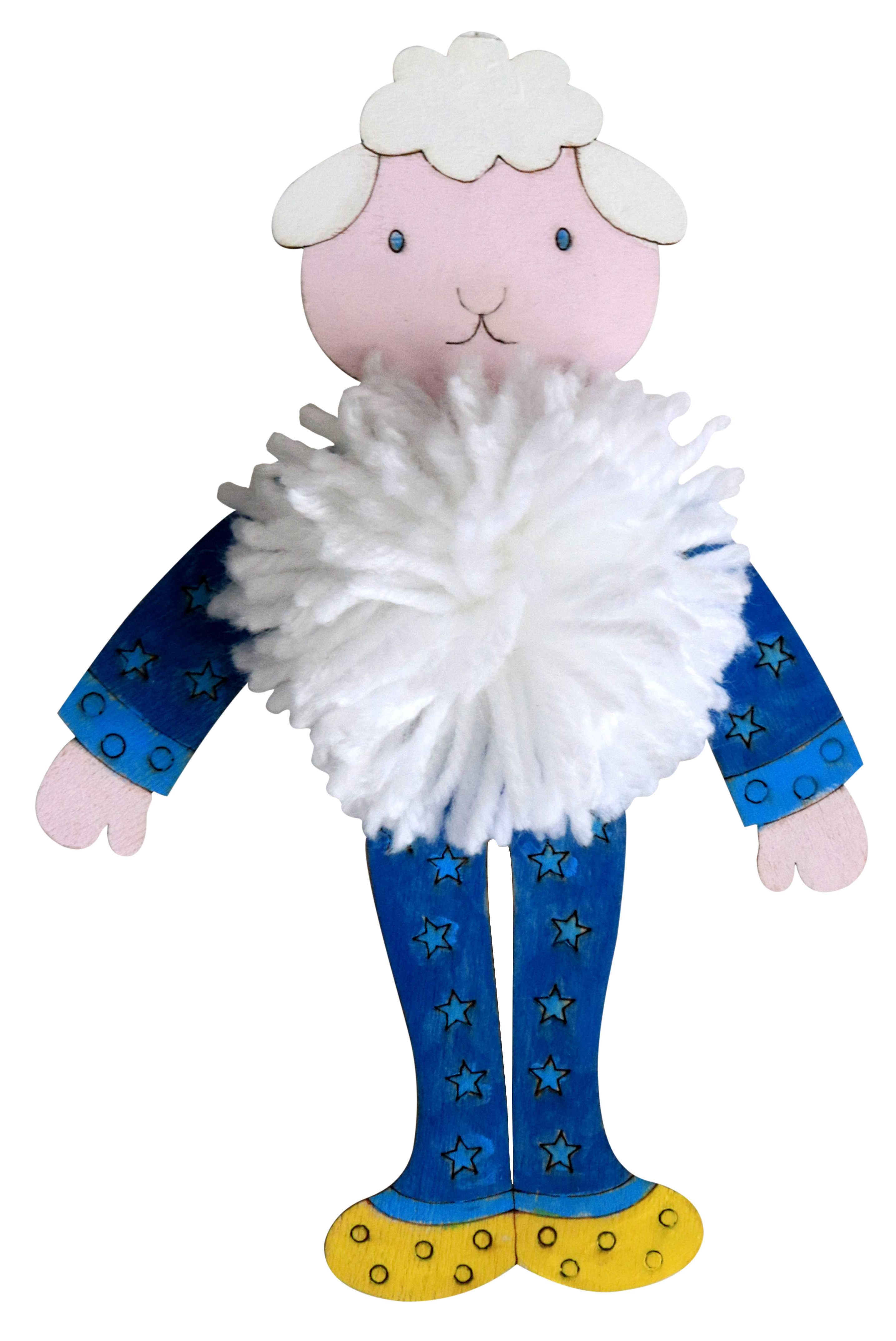 פונפון קיט - כבשה בפיג'מה
