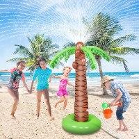 מזרקת מים לילדים-בצורה עץ דקל