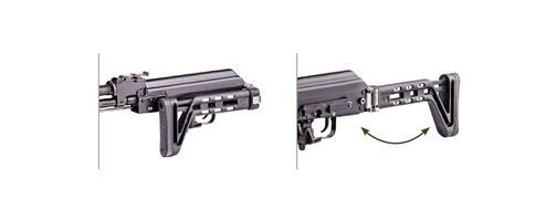 AK47/100 Ambidextrous Slim Side-Folding Stock