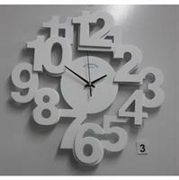 שעון קיר ספרות חתוכות