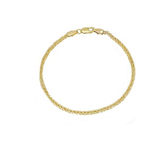 צמיד זהב עדין לילד\ה או נער\ה או אישה (בחירת אורך)