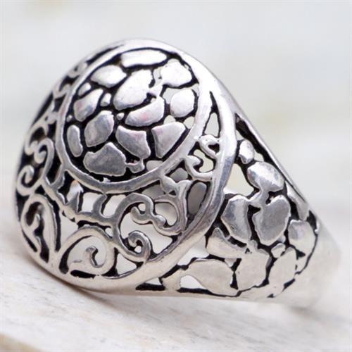 טבעת כסף מעוצבת RG6810