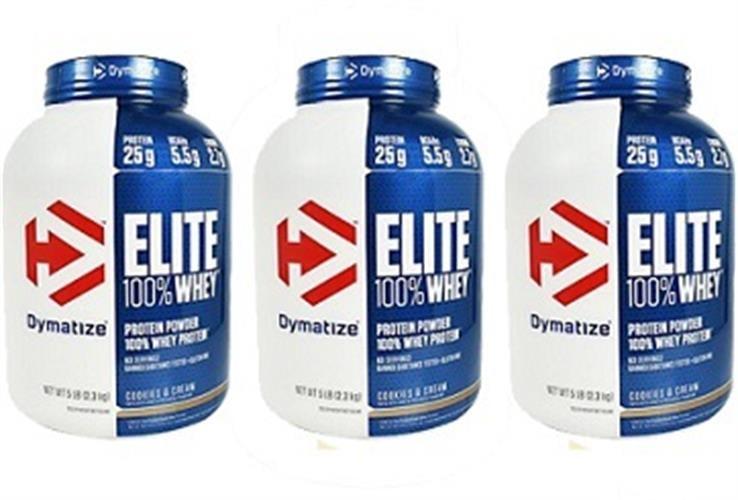 Dymatize Whey Protein Elite אבקת חלבון דיימטייז עלית שלישיה