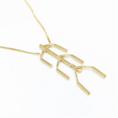 שרשרת עצמות זהב