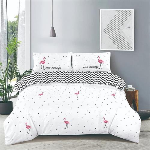 סט מלא מיטה וחצי דגם פלמנגו