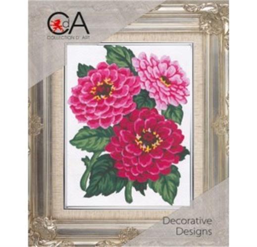 גובלן ריקמה  CDA - זר פרחים K3000