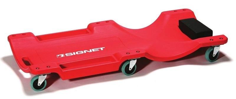 מיטת מוסך אדומה פלסטיק מקצועית סיגנט Signet