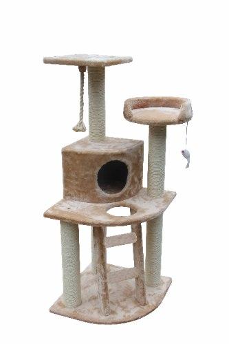מתקן גירוד 3 קומות לחתול