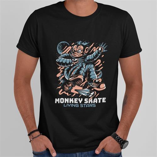 חולצת טי - Monkey Skate