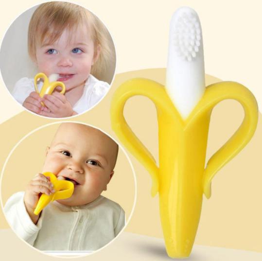 נשכן בננה סיליקון לתינוק