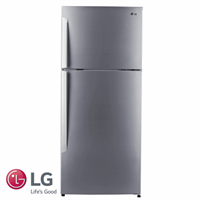 LG מקרר מקפיא עליון 425 ליטר דגם: GR-B485INVS גוון נירוסטה