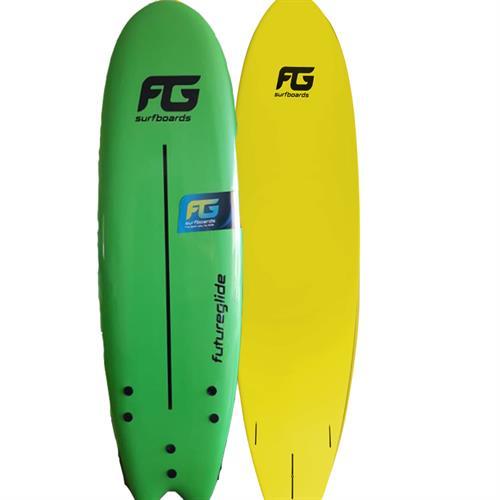 גלשן סופט בורד ירוק/צהוב FutureGlide FG 5.8