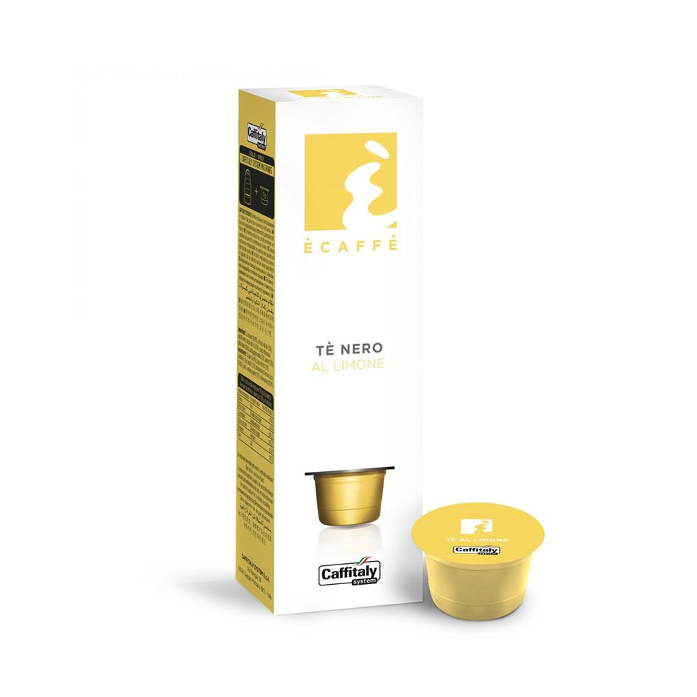 10 קפסולות אספרסו קלאב תה לימון - Espresso Club Lemon Tea