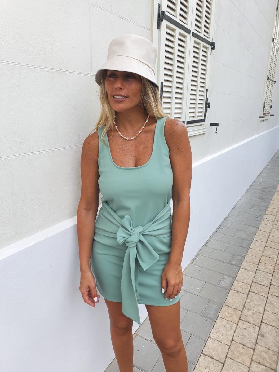 שמלת CATRINA ירוק
