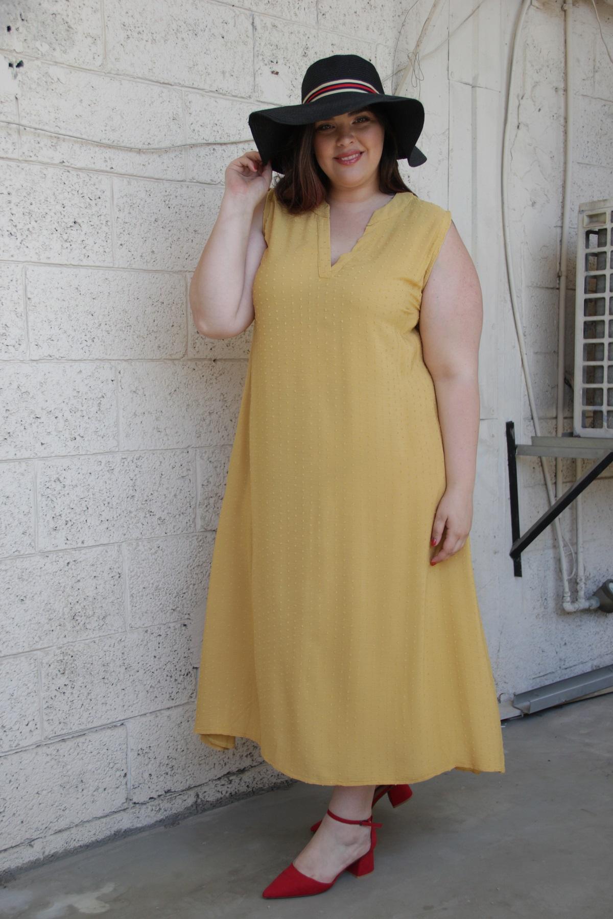 שמלת רובי חרדל