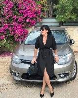 שמלת חרדל שחור