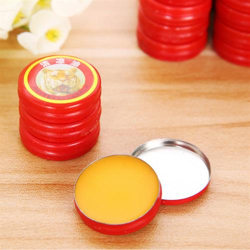 10pcs Cooling Oil Refresh Brain Tiger Balm Treat Headache Chinese God Medicine
