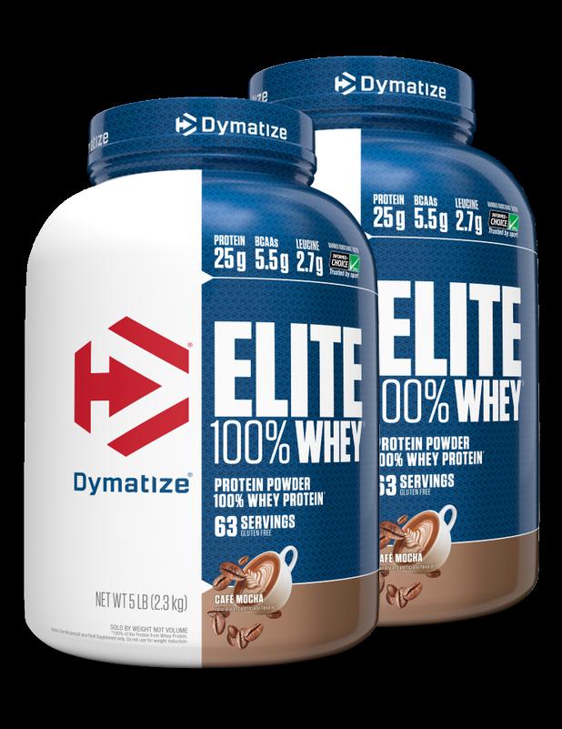 מארז זוגי אבקת חלבון עלית דיימטייז   Dymatize Elite