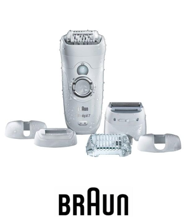 BRAUN מסיר שיער סליק אפיל עם סנסור דגם: ESE7880