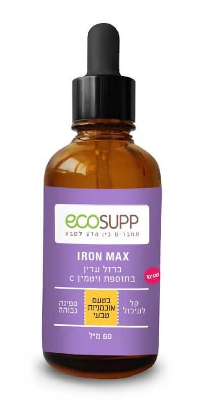 ברזל נוזלי עדין - IRON MAX