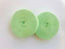 חוטי טריקו לסריגה  צבע ירוק תפוח
