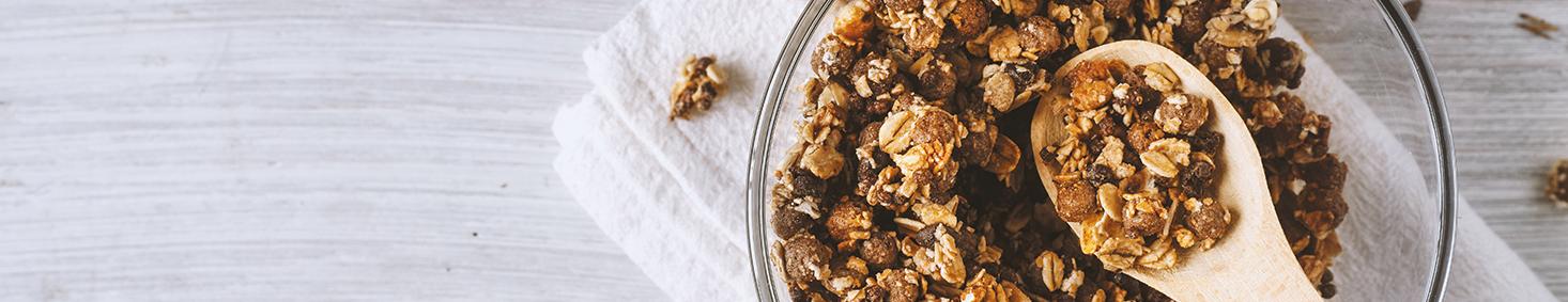 חטיפים בריאים וגרנולה - טעים בריא