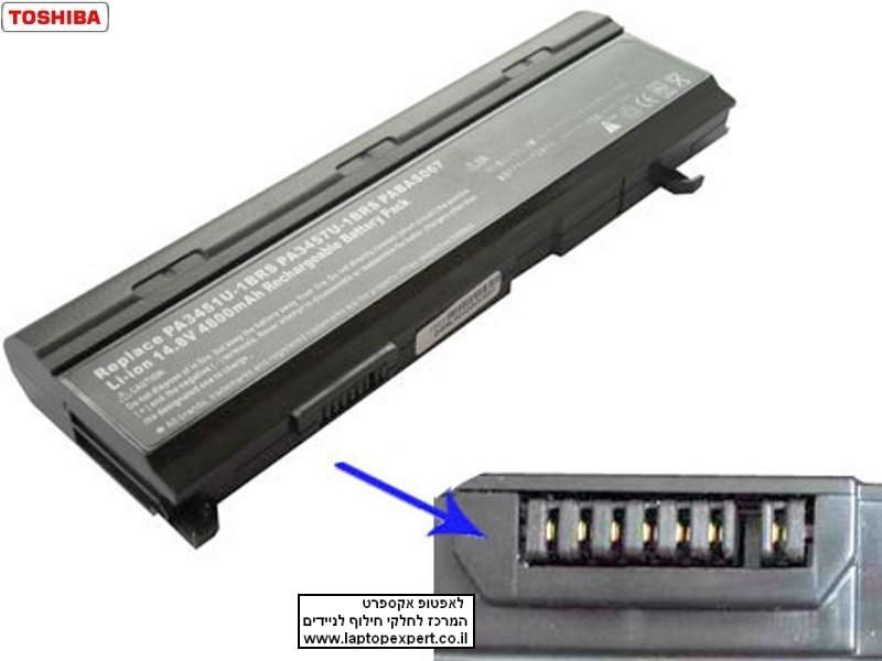 סוללה למחשב נייד טושיבה מקורית Toshiba M70 A80 A135 PA3457U-1BAS Aatellite