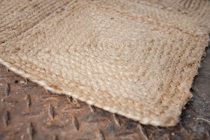 שטיח יוטה קטן - ריבועים