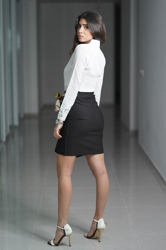 חצאית WOW מחטבת