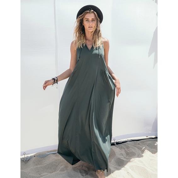 שמלת נינה זית