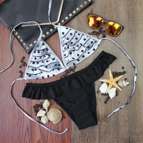 בגד ים ביקיני ברזילאי בעיצוב קייצי לוהט וסקסי דגם 3