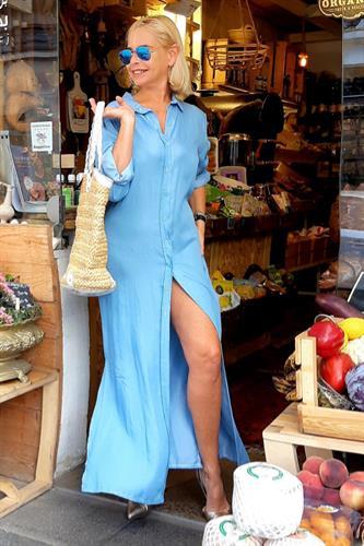 שמלה תותי