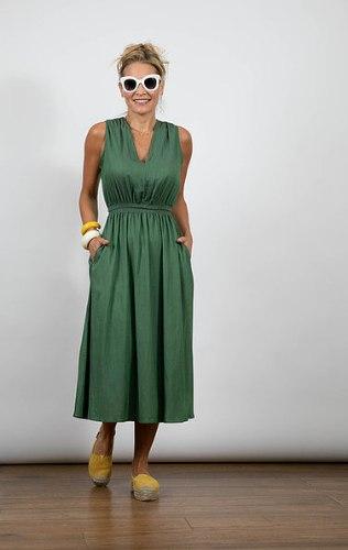 שמלת מורין ירוקה