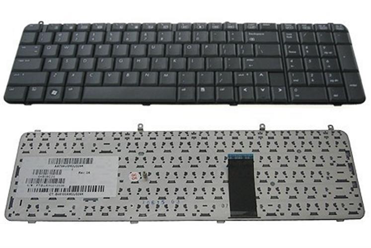 החלפת מקלדת למחשב נייד HP Pavilion dv9000 Keyboard 432976-001, 441541-001
