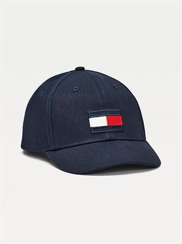 כובע כחול דגל TOMMY HILFIGER רקום