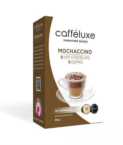 caffeluxe Mochaccino מוקצ'ינו תואם נספרסו