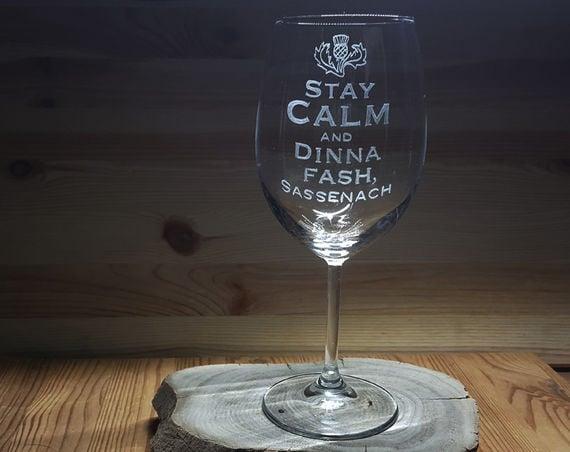סאסנך, היין טעים יותר בכוסות האלו