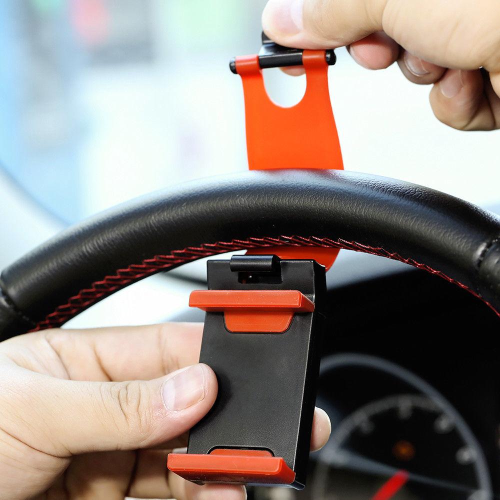 תושבת טלפון על ההגה לרכב