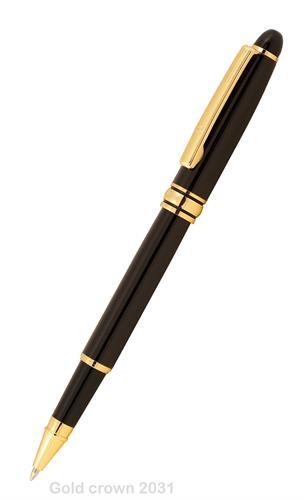 10 עטים מתכתיים יוקרתיים דגם Crown כולל חריטת הקדשה