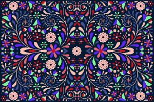 קייס ללפטופ - מסיבת פרחים