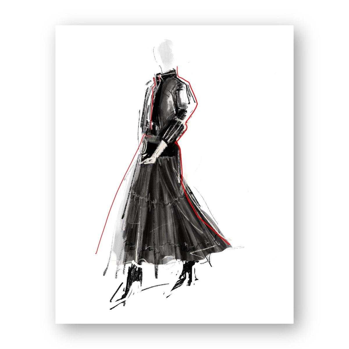 איור אופנה #11