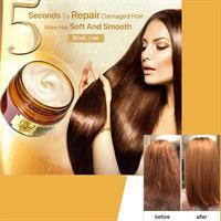 מסכת קראטין לשיער ב- 5 שניות