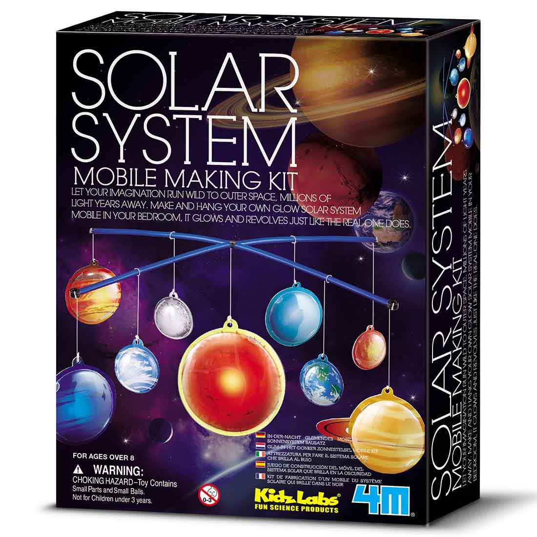 ערכת יצירה מובייל מערכת השמש