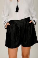מכנס ערב שחור/אפור