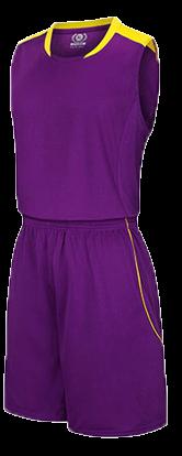תלבושת כדורסל בעיצוב אישי Purple דגם #6018