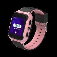 שעון GPS לילדים KidiWatch SAFE - השעון החכם ששומר על הילדים - ורוד!
