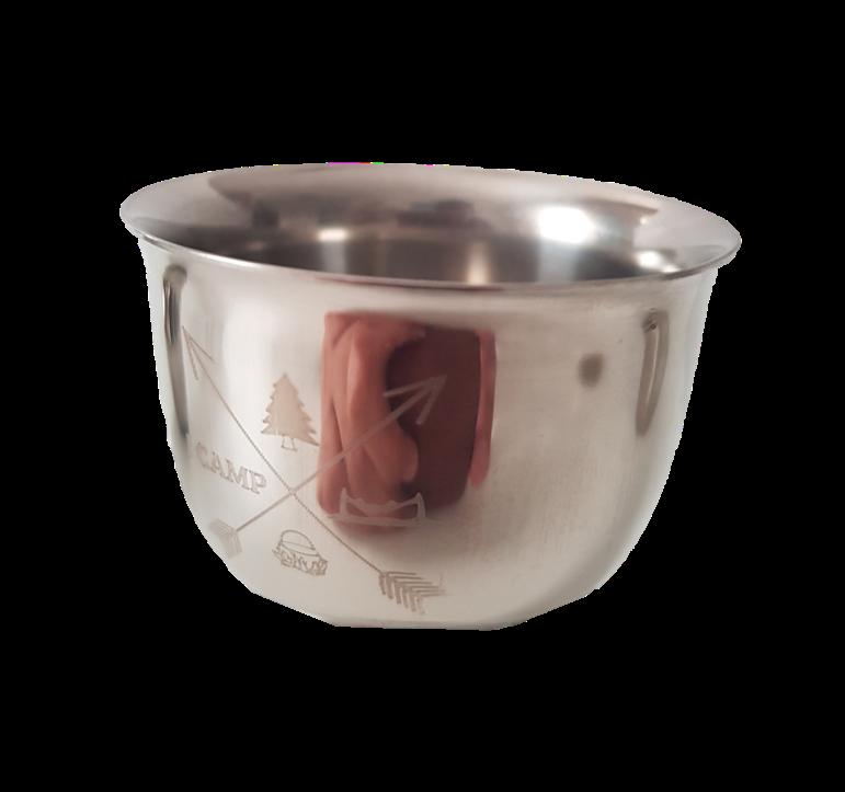 """כוס נירוסטה דופן כפולה - 85 מ""""ל"""